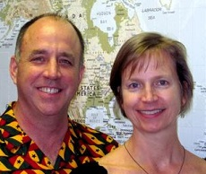 Suzanne and Steve Buchele serve in Ghana at Ashesi University College.