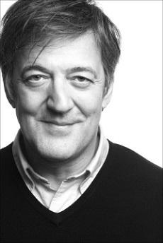 British comedian Stephen Fry, smarter than God.